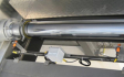 Hydraulic cylinder on a Sliding Frame Silo