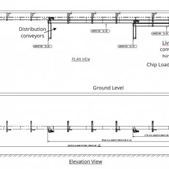 Livebottom/transfer conveyors