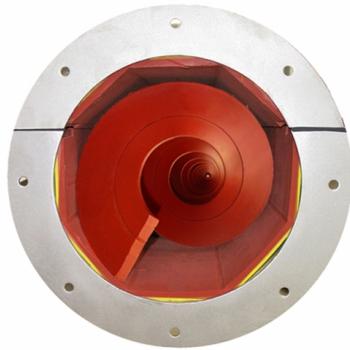 Shafltess Spiral Conveyor (octagonal trough)