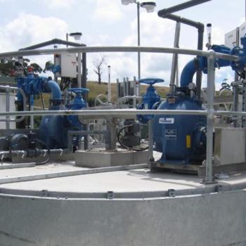 Grit Vortex pump