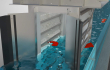 BANDGUARD Centre Flow Band Screen wastewater flow