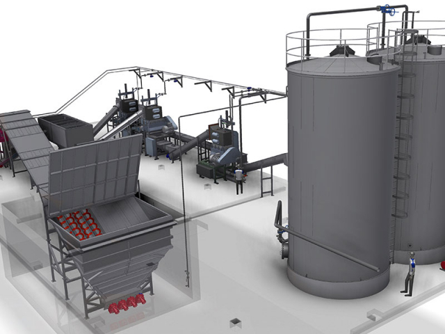 Biowaste Receival Bunker