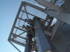 SPIROLIFT® vertikale Förderspirale achteckiger Trog (OK Trog)