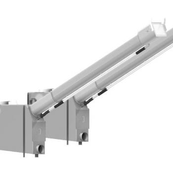 SPIROGUARD Shaftless Screw Conveyor Screen and Screen Dewatering