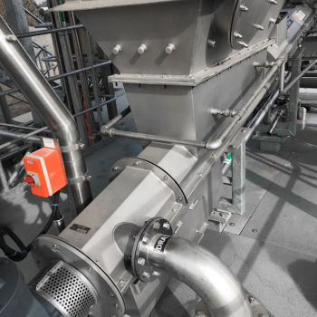Pet foot meat dewatering, storage and compression
