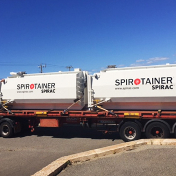 SPIROTAINER® leaving the workshop