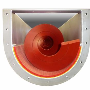 Shaftless Spiral conveyor U-trough