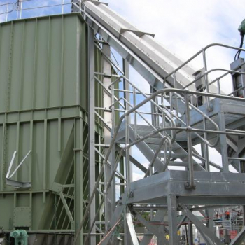 Sludge silo for feed to PC pumps (360m3)