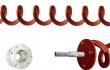 Shaftless Screw Conveyor, Gearbox mount, Keyed Shaft