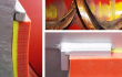 Shaftless Screw Conveyor Liner, DURAFLO SPX