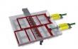 Rectangular Sliding Frame 3D