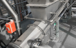 Pet food waste dewatering