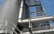Round Sliding Frame installation and Shaftless Spiral Conveyor System